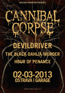 Plakát Cannibal Corpse