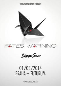 Plakát_Fates Warning Praha
