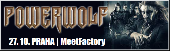Powerwolf v Praze