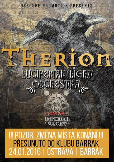 Therion - Ostrava