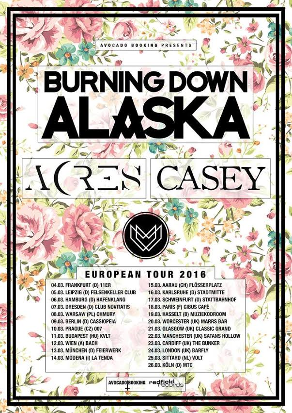 BurningDownAlaska tour