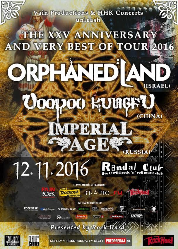OrphanedLand - Bratislava