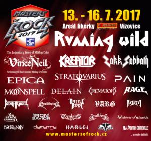 Masters of Rock 2017 @ VIZOVICE, Areál likérky R.Jelínek | Vizovice | Česká republika