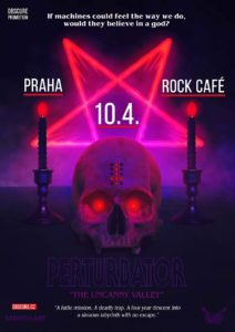Perturbator @ Praha - Rock Café, CZ | Česko