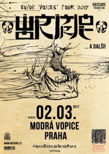 Wormrot, Lycanthrophy, Needful Things @ Praha - Modrá Vopice | Česká republika