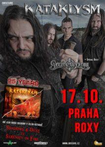 Kataklysm, Graveworm @ Praha - Roxy | Česko