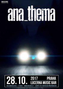 Anathema, Alcest @ Praha - Lucerna Music Bar | Česko