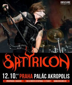 Satyricon, Suicidal Angels, Fight the Fight Band @ Praha - Palác Akropolis | Česko