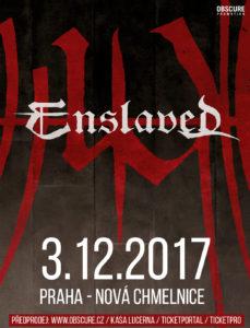 Enslaved @ Praha - Nová Chmelnice | Česko