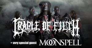 Cradle of Filth, Moonspell @ Ostrava, Garage Club | Ostrava | Česko