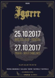 Igorrr @ Praha, Nová Chmelnice | Česko