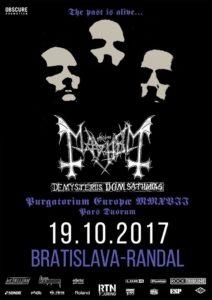 Mayhem @ Bratislava - Randal Club | Slovensko