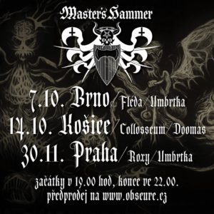 Master's Hammer, Umbrtka @ Brno - Fléda Club | Česko