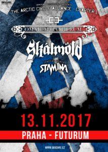 Omnium Gatherum, Skálmöld, Stam1na @ Praha, Futurum Music Bar | Praha | Česko