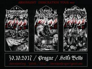 Black Witchery, Possession, Nyogthaeblisz @ Praha, Hells Bells Rockin' Pub | Praha | Hlavní město Praha | Česko