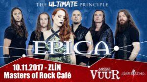 Epica, VUUR, Myrath @ Zlín, Masters of Rock Cafe | Zlín | Zlínský kraj | Česko