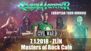 Gloryhammer, Civil War @ Zlín, Masters of Rock Cafe | Zlín | Zlínský kraj | Česko