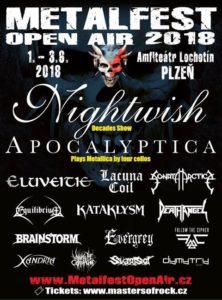 Metalfest Open Air 2018 @ Plzeň, Lochotínský Amfiteatr | Plzeňský kraj | Česko