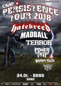 Persistence Tour 2018 @ Brno, SONO Centrum | Jihomoravský kraj | Česko