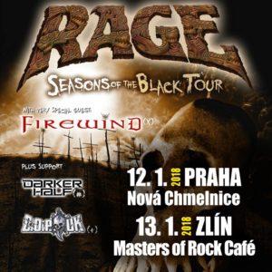Rage, Firewind @ Praha, Nová Chmelnice | Hlavní město Praha | Česko
