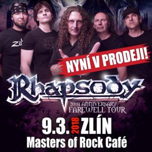 Rhapsody @ Zlín, Masters of Rock Cafe | Zlín | Zlínský kraj | Česko