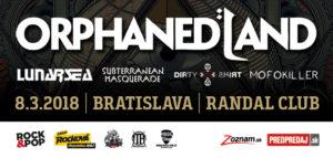 Orphaned Land + special guests @ Randal Club | Bratislavský kraj | Slovensko