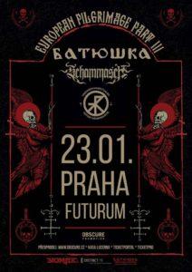 Batushka, Schammasch, Trepaneringsritualen @ Praha, Futurum Music Bar | Praha | Hlavní město Praha | Česko