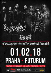 Rotting Christ, Carach Angren, Svart Crown @ Praha, Futurum Music Bar | Praha | Hlavní město Praha | Česko