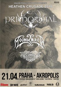 Primordial, Moonsorrow, Der Weg Einer Freiheit @ Praha, Palác Akropolis | Hlavní město Praha | Česko
