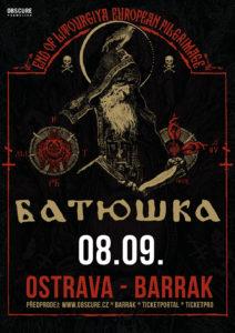 Batushka @ Ostrava, Barrák Music Club | Moravskoslezský kraj | Česko