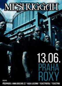 Meshuggah @ Praha, Roxy | Hlavní město Praha | Česko