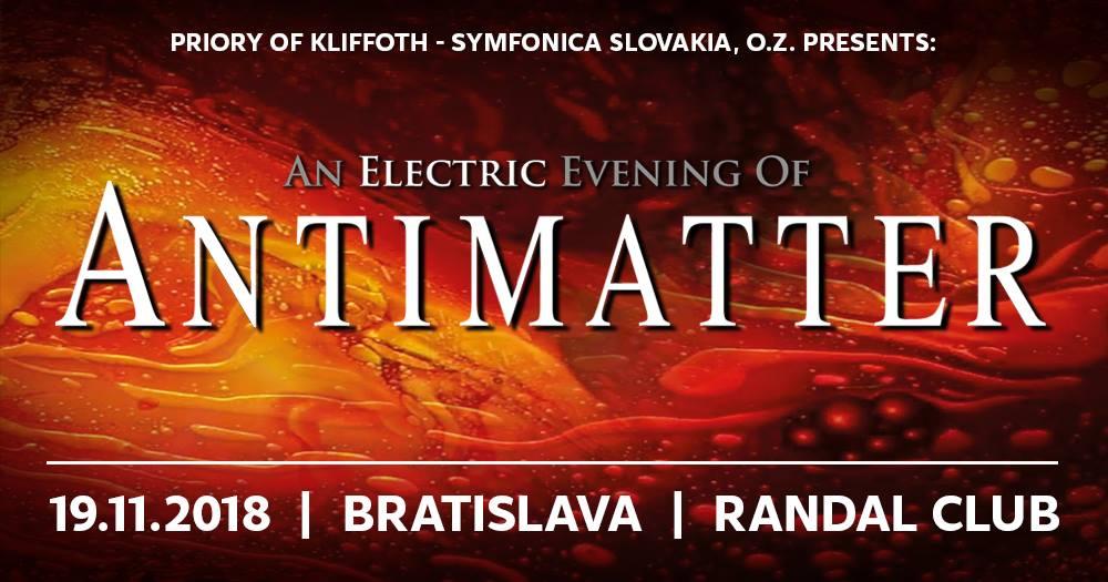 Antimatter @ Randal Club | Bratislavský kraj | Slovensko