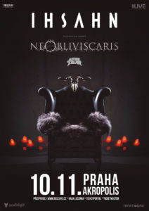 Ihsahn, Ne Obliviscaris, Astrosaur @ Praha, Palác Akropolis | Hlavní město Praha | Česko