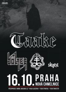 Taake, Bölzer, Otoh, Slegest @ Praha, Nová Chmelnice | Hlavní město Praha | Česko