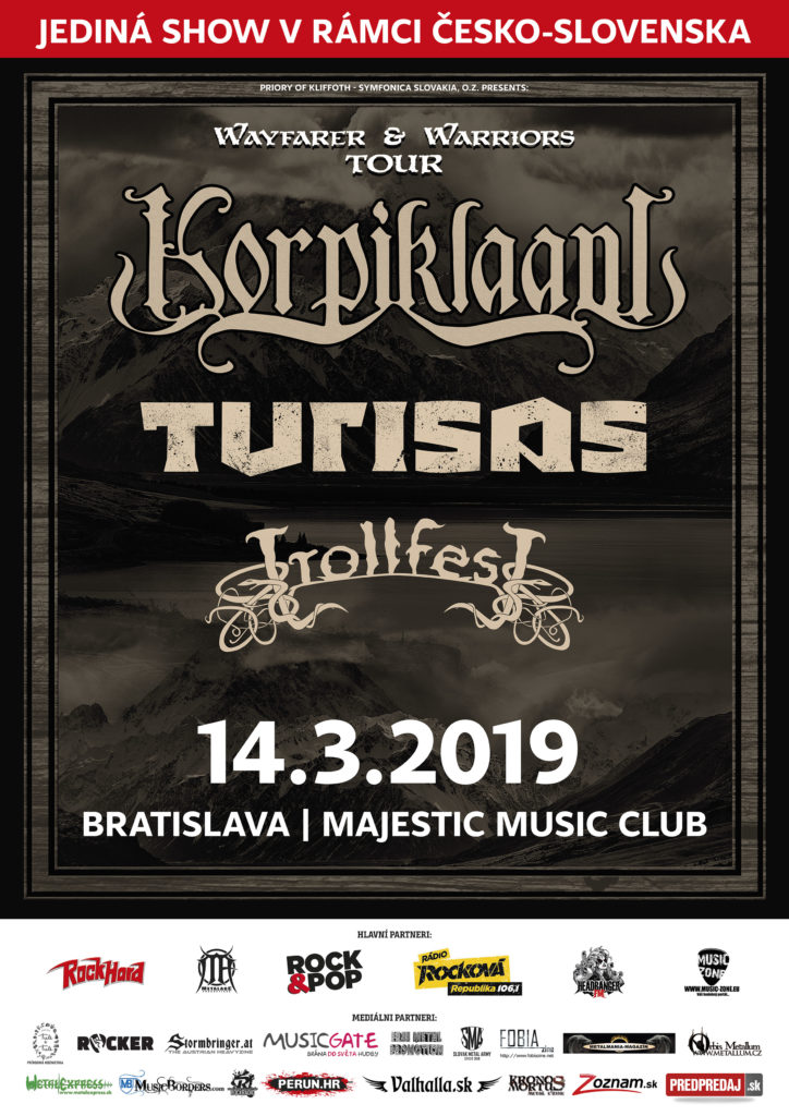 Korpiklaani, Turisas, Trollfest @ Majestic Music Club | Bratislavský kraj | Slovensko