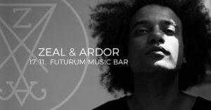 Zeal & Ardor @ Praha, Futurum Music Bar | Praha | Hlavní město Praha | Česko