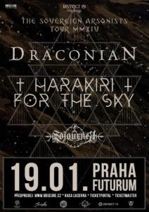 Draconian, Harakiri For The Sky, Sojourner @ Praha, Futurum Music Bar | Praha | Hlavní město Praha | Česko