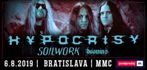 Hypocrisy, Soilwork, Doomas @ Bratislava - Majestic Music Club | Bratislavský kraj | Slovensko
