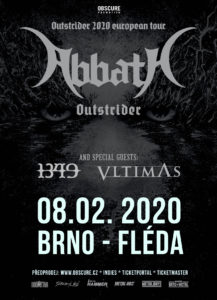 Abbath, 1349, Vltimas @ Brno, Fléda Club | Jihomoravský kraj | Česko