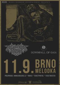 Der Weg Einer Freiheit, Downfall Of Gaia @ Brno, Melodka | Jihomoravský kraj | Česko