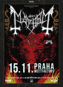 Mayhem, Gaahls Wyrd, Gost @ Praha, MeetFactory | Hlavní město Praha | Česko