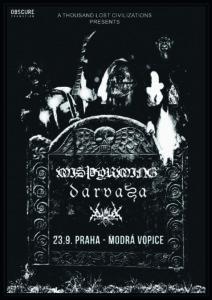 Misþyrming, Darvaza, Vortex Of End @ Praha, Modrá Vopice | Praha | Hlavní město Praha | Česko
