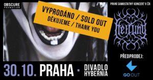Heilung @ Praha, Divadlo Hybernia | Hlavní město Praha | Česko