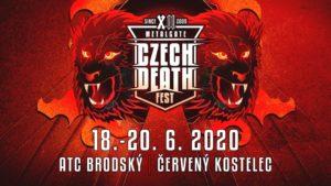 MetalGate Czech Death Fest 2020 @ Kemp Brodský , Červený Kostelec | Zábrodí | Královéhradecký kraj | Česko