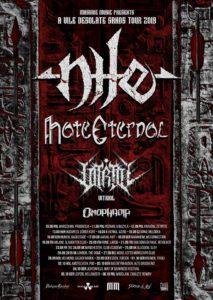 Nile, Hate Eternal @ Brno, Melodka | Jihomoravský kraj | Česko