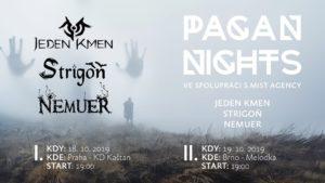 Pagan Nights: Strigôň, Nemuer, Jeden Kmen @ Praha, Kaštan | Hlavní město Praha | Česko