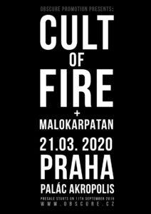 Cult of Fire, Malokarpatan @ Praha, Palác Akropolis | Hlavní město Praha | Česko