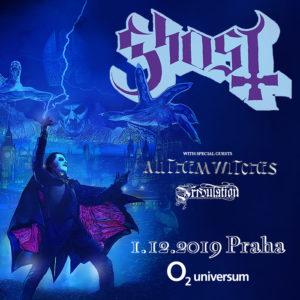 Ghost, All Them Witches, Tribulation @ Praha, O2 Universum | Hlavní město Praha | Česko