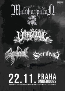 Malokarpatan, Vircolac, Goatcraft, Sacrilegia @ Praha, Underdogs' | Hlavní město Praha | Česko