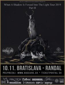 Swallow the Sun, October Tide, Oceanwake @ Bratislava, Randal Club | Bratislavský kraj | Slovensko